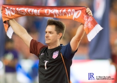 A fan during the pregame show prior to a Match between the Houston Dynamo vs The New York Red bulls April 1,2017 BBVA Compass Stadium
