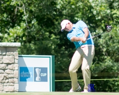 Tom Lehman During the first round of the Insperity Invitational Golf Tournament, TPC The Woodlands.