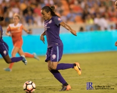 Orlando Pride Forward Marta #10 During a match between the Houston Dash vs Orlando Pride Final Score Dash 2,Orlando 4 ,Houston Tx, 2017.