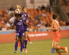 During a match between the Houston Dash vs Orlando Pride Final Score Dash 2,Orlando 4 ,Houston Tx, 2017.